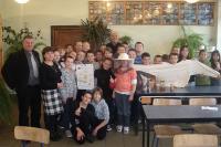 Spotkanie z uczniami w Zespole Szkół w Bukowinie Tatrzańskiej.