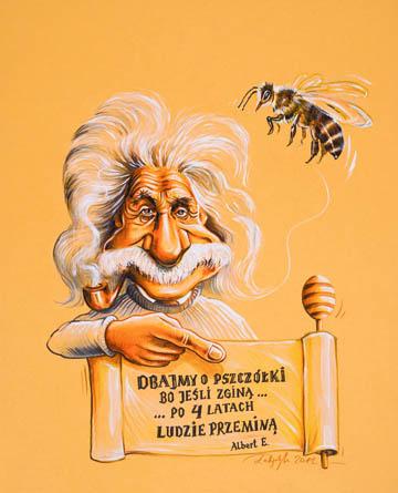 Einstein Radzi - dbajmy o pszczoły